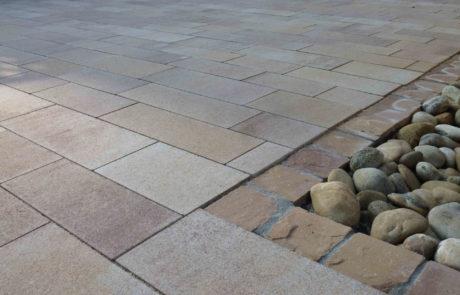 Einfassung Sandstein