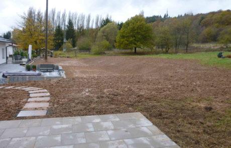 Garten Und Terrasse Nachher