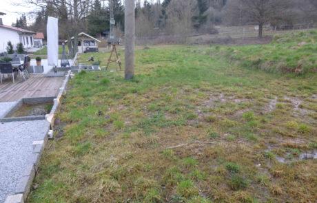 Garten Vor Neugestaltung