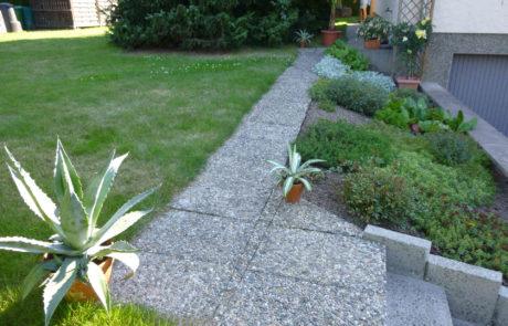 Gartenweg Vorher 3