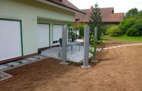 Moderner Terrassenbau Und Gartengestaltung