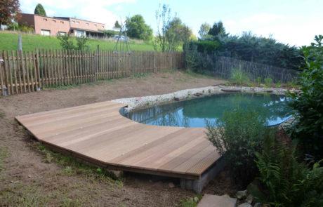 Neuer Pool Schwimmteich