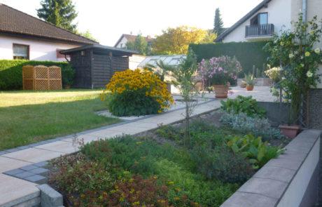 Pflegeleichte Gartengestaltung Kiesbeet Bepflanzung Im Juli