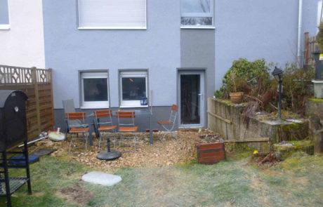 Terrasse Vorher 2