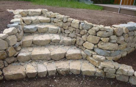 Trockenmauerbau 2