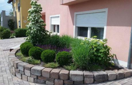 Vorgartenbepflanzung Bauseits 4